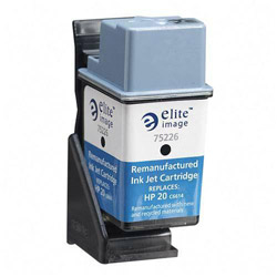 Elite Image 75226 Black Inkjet Printer Cartridge for FAX 1010/XI/ABL/ABC/1020, 450 Pages