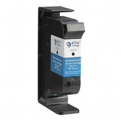 Elite Image 75227 Black Inkjet Printer Cartridge for DeskJet 810C/812C/840C/842C, 495 Pages