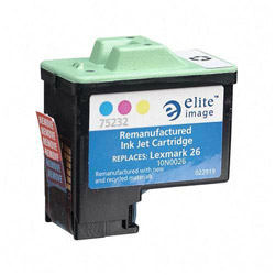 Elite Image 75232 Color Inkjet Cartridge for X75, 275 Pages