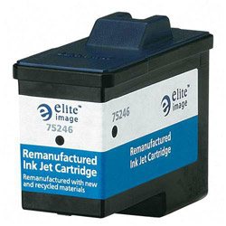 Elite Image 75246 Black Inkjet Cartridge for X5150, X6150, X6170, 600 Pages