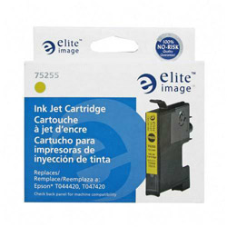Elite Image 75255 Yellow Ink Cartridge for Epson Stylus C64/C66, 400 Pages