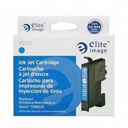 Elite Image 75257 Cyan Ink Cartridge for Epson Stylus Photo R200/R300, 430 Pages