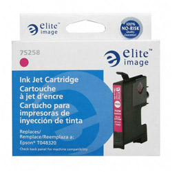 Elite Image 75258 Magenta Ink Cartridge for Epson Stylus Photo R200/R300, 430 Pages
