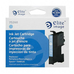 Elite Image 75260 Light Cyan Ink Cartridge for Epson Stylus Photo R200/R300, 430 Pages