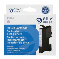 Elite Image 75261 Light Magenta Ink Cartridge for Epson Stylus Photo R200/R300, 430 Pages
