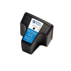 Elite Image 75381 Black C8721WN Replacement Ink Cartridges, 660 Pages