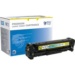 Elite Image Remanufactured HP 304A Color Laser Cartridge, Yellow