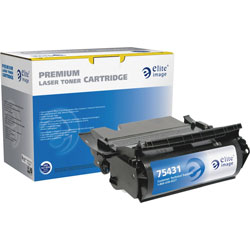Elite Image Toner Cartridge, 21000 Page Yield, Black