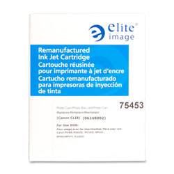 Elite Image Photo Ink Cartridge, 870 Page Yield, Cyan