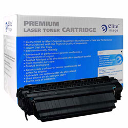 Elite Image Laser Toner Cartridge, 25000 Page Yield, Black