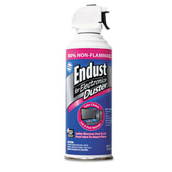 Endust Compressed Gas Duster, Non Flammable Formula, 10 oz. Can