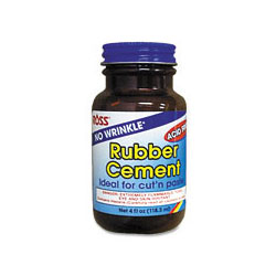 Elmer's 4 Ounce Rubber Cement with Brush