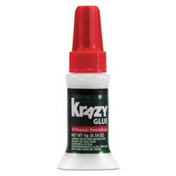 Krazy® Glue Brush on Glue, 5 Gram Bottle