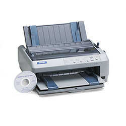 Epson LQ 590 Dot Matrix Impact Printer, 24 Pin , 529cps High Speed Draft