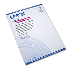 Epson Photo Quality Ink Jet Paper, A2 Size (16 1/2 x 23 1/2), 30 Sheets/Pack