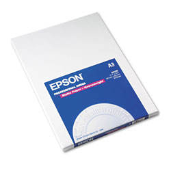 Epson Ink Jet Matte Paper, A3 Size (11 3/4 x 16 1/2), 50 Sheets/Pack