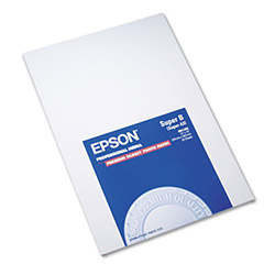 Epson Premium Glossy Photo Paper, 13 x 19, 20 Sheets/Pack