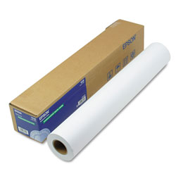 "Epson Doubleweight Matte Paper, 24"" x 82', 1 Roll"