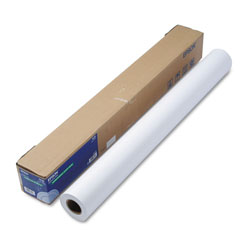 Epson Ink Jet Paper, Matte, Double Wt, Stylus Pro 9000/9500, 36in x 82ft