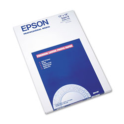 Epson Premium Luster Photo Paper, 13 x 19, 50 Sheets/Pack