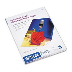 Epson Borderless Matte Photo Paper for Stylus Photo 780/1280, 8 x 10, 50 Sheets/Pack