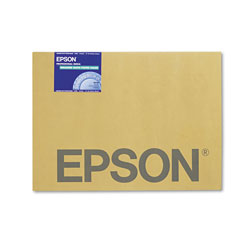 "Epson Matte Poster Board for Wide Format Ink Jet Printers, Enhanced, 24"" x 30"",10/Pack"