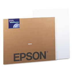 "Epson Matte Poster Board for Wide Format Ink Jet Printers, Enhanced, 30"" x 40"", 5/Pack"