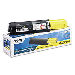 Epson Toner Cartridge for Aculaser C1100, High Capacity, Yellow