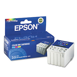 Epson Replacement Ink Jet Cartridge for Stylus Photo 1200, Color