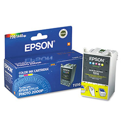 Epson Ink Cartridge for Stylus Photo 2000P, Color