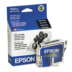 Epson Ink Cartridge for Stylus Color 80, 80N, 80WN, 82, CX5200, CX5400, Black