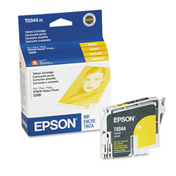 Epson Ink Jet Cartridge for Stylus Photo 2200, Yellow