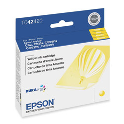 Epson Ink Jet Cartridge for Stylus Color 82, CX5200, CX5400, Yellow