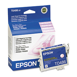 Epson Ink Cartridge for Stylus Photo R200, R300, R300M, RX500, & Others, Light Magenta