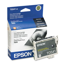Epson Ink Jet Cartridge for Stylus Photo R800, R1800 Printer, Black