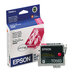 Epson Ink Jet Cartridge for Stylus Photo R2400 Printer, Magenta Cartridge