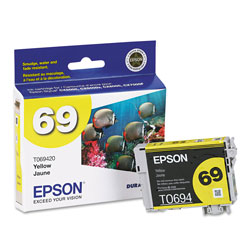 Epson Inkj Cart 69 Yellow CX5000 CX6000
