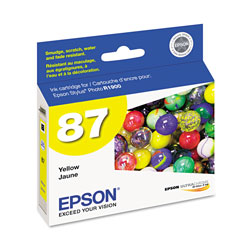 Epson T087420 Ink Cartridge, Yellow