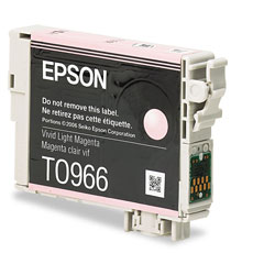 Epson T096620 Inkjet Cartridge, Vivid Light Magenta
