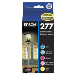 Epson T277920 Claria Ink, Multicolor, 360 Page Yield, 5 per Pack