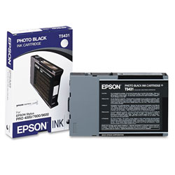 Epson Ink Jet Cartridge for Stylus Pro 4000, 7600, 9600, Ultrachrome Black