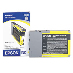 Epson Ink Jet Cartridge for Stylus® Pro 4000, 7600, 9600, Ultrachrome Yellow