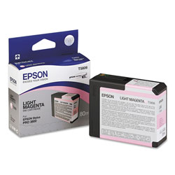 Epson Inkjet Print Cartridge for Stylus Pro 3800, Light Magenta