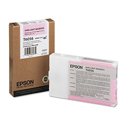 Epson T605 Series (60) Inkjet Cartridge, Light Magenta