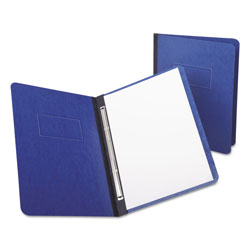 "Oxford PressGuard Report Cover, Prong Clip, Letter, 3"" Capacity, Dark Blue"