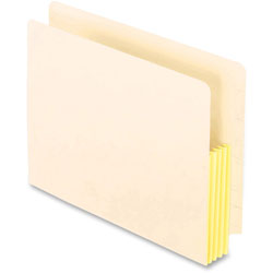 Pendaflex Manila Drop Front Shelf File Pockets, 25 Pockets, Straight Cut, Letter, Manila