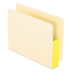 Pendaflex Manila Drop Front Shelf File Pockets, Straight Cut, 10 Pockets, Letter, Manila