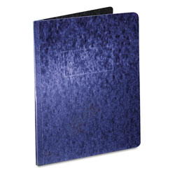 "Oxford Pressboard Report Cover, 2 Prong Fastener, Letter, 3"" Capacity, Dark Blue"