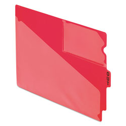"Pendaflex End Tab Poly Out Guides, Center ""OUT"" Tab, Letter, Red, 50/Box"
