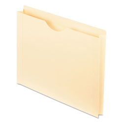 Pendaflex Reinforced Top Tab File Jacket, 1 1/2 Inch Expansion, Letter, Manila, 50/Box